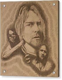 Nirvana Acrylic Print by Michael McGrath