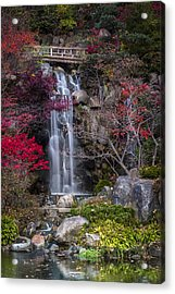 Acrylic Print featuring the photograph Nishi No Taki by Sebastian Musial