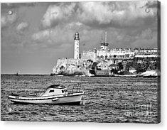 Nisita In Havana Bay Acrylic Print