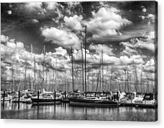 Nitemare On The Lake Acrylic Print by Robert FERD Frank