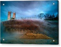 Nitrogen Fog Acrylic Print