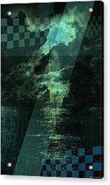 No 030 Acrylic Print by Alexander Ahilov