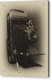 No. 1-a Kodak Jr. Acrylic Print by Leah Palmer