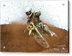 No. 23 Acrylic Print by Jerry Fornarotto
