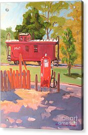 No. 7 Acrylic Print by Rhett Regina Owings