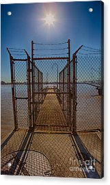 No Admittance Acrylic Print by Kay Pickens