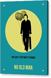 No Country For Old Man Poster 5 Acrylic Print by Naxart Studio