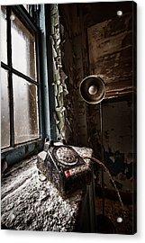 No Dial Tone Acrylic Print