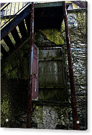 No Entry Acrylic Print by Richard Reeve