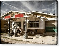 Acrylic Print featuring the photograph No Gas by Steven Bateson