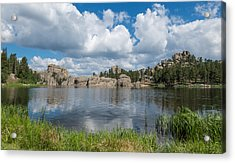 Acrylic Print featuring the photograph Sylvan Lake South Dakota by Patti Deters