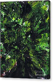 No Leaf Clover - Middle Acrylic Print by Kamil Swiatek