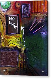 No Limits Acrylic Print by Mirko Gallery
