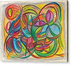 No Longer Knows Acrylic Print by Kelly K H B
