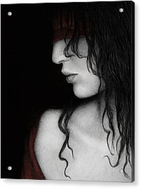 No Looking Back Acrylic Print by Pat Erickson