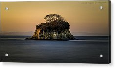 No Man Is An Island Acrylic Print