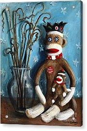 No Monkey Business Here 1 Acrylic Print