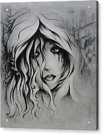 No More Tears Acrylic Print by Rachel Christine Nowicki