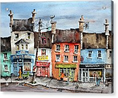 Clare  No Parking In Ireland Acrylic Print