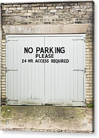 No Parking Acrylic Print