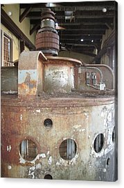 Acrylic Print featuring the photograph No Power Here Boss by Marie Neder