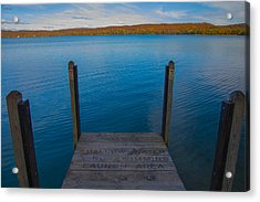 No Swimming Acrylic Print
