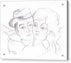 No Time For Goodbyes Acrylic Print by John Keaton