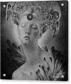 No Title 8 Acrylic Print by Graszka Paulska
