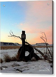 No Trespassing Acrylic Print by Desiree Paquette