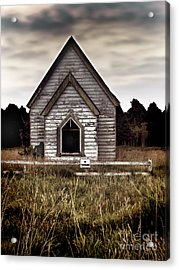 No Trespassing Acrylic Print by Karen Lewis