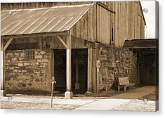 Acrylic Print featuring the photograph No Water by Kirt Tisdale