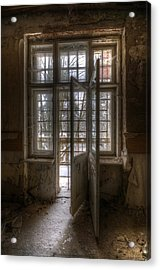 No Way Out Acrylic Print by Nathan Wright