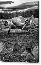 No Wings Acrylic Print by Glenn Thompson