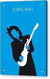 No009 My Prince Minimal Music Poster Acrylic Print