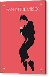 No032 My Michael Jackson Minimal Music Poster Acrylic Print