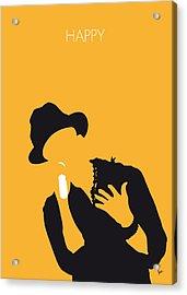 No034 My Pharrell Williams Minimal Music Poster Acrylic Print by Chungkong Art