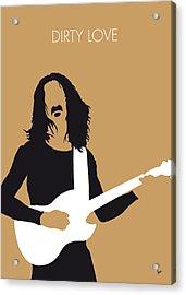 No040 My Frank Zappa Minimal Music Poster Acrylic Print