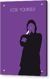 No041 My Eminem Minimal Music Poster Acrylic Print by Chungkong Art