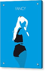 No049 My Iggy Azalea Minimal Music Poster Acrylic Print by Chungkong Art