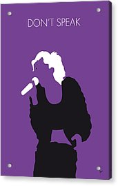 No051 My No Doubt Minimal Music Poster Acrylic Print by Chungkong Art