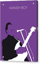 No061 My Muddy Waters Minimal Music Poster Acrylic Print by Chungkong Art