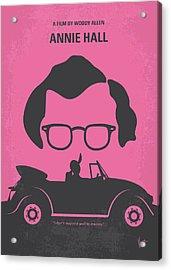 No147 My Annie Hall Minimal Movie Poster Acrylic Print