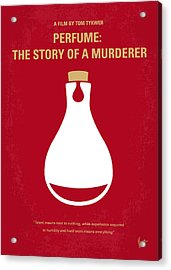 No194 My Perfume The Story Of A Murderer Minimal Movie Poster Acrylic Print