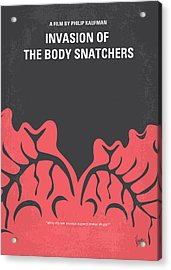 No374 My Invasion Of The Body Snatchers Minimal Movie Acrylic Print by Chungkong Art