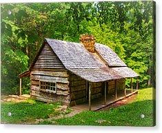 Noah Ogle Cabin Acrylic Print by Carolyn Derstine