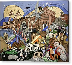 Noahs Ark Acrylic Print by Anthony Falbo