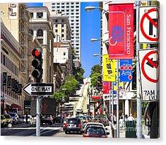 Nob Hill - San Francisco Acrylic Print