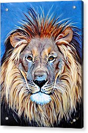 Acrylic Print featuring the painting Noble Pride by Donna Proctor