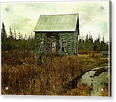 Nobody's Home  Acrylic Print by Dianne  Lacourciere