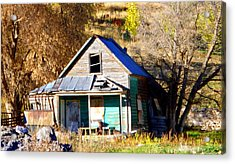 Acrylic Print featuring the photograph Nobody's Home by Jackie Carpenter